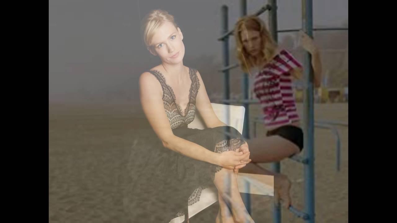 January Jones Shows off Her Feet and Long Legs - YouTubeJanuary Jones Foot