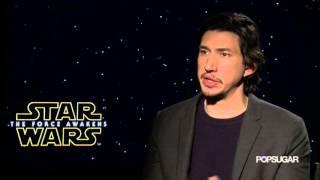 Adam Driver Loved Keeping Star Wars Secrets | Star Wars: The Force Awakens