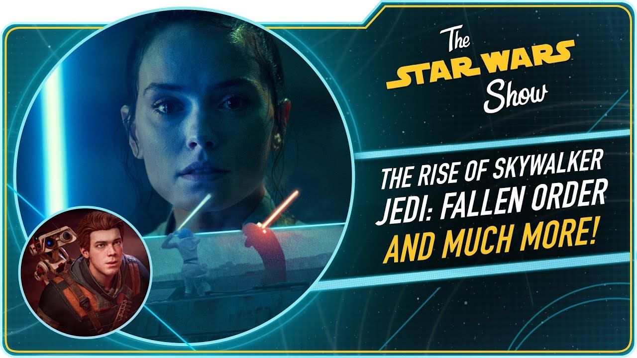 The Rise of Skywalker Trailer Reactions and Jedi Fallen Order Preview!