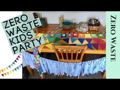 Zero Waste Party Decorations