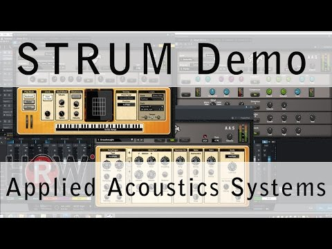 STRUM demo Applied Acoustics Systems