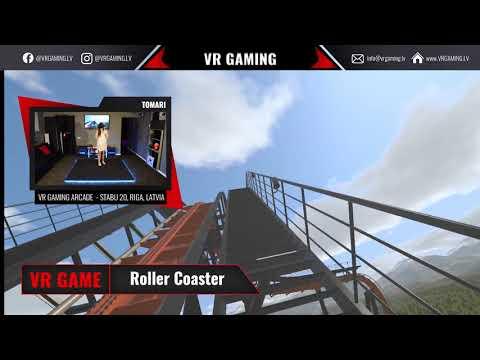 NoLimits 2 Roller Coaster Simulation - VR spēles ieskats