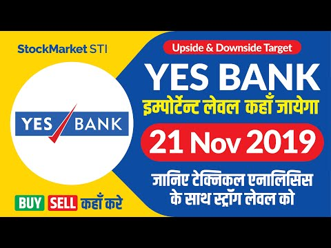YESBANK Share News | Bse Nse Yesbank Share Price Buy Sell Target 21 November | Yes Bank Stock News