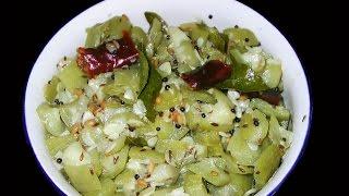 Beerakaya Koora - Ridge Gourd Curry - Andhra Vantalu Telugu Recipes Indian Food