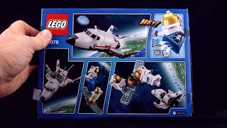 Lego Space Utility shuttle 60078 - Lego Astronauts space blast off Spacewalk - Lego Speed Build