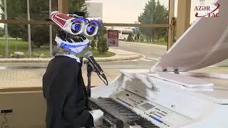 Singing and dancing robots of Bakutel