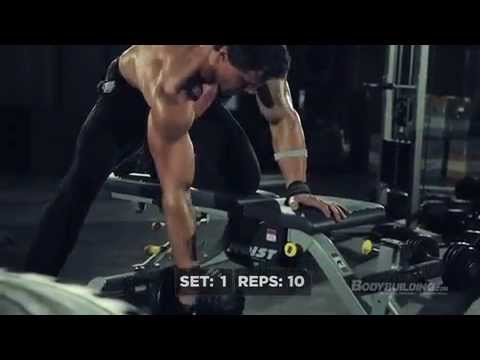 Greg Plitt Back Workout (Military Fitness Transformation)