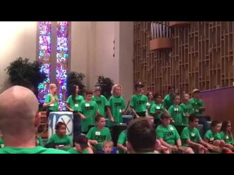 Whole Group Omaha Street Percussion Camp Performance 2017