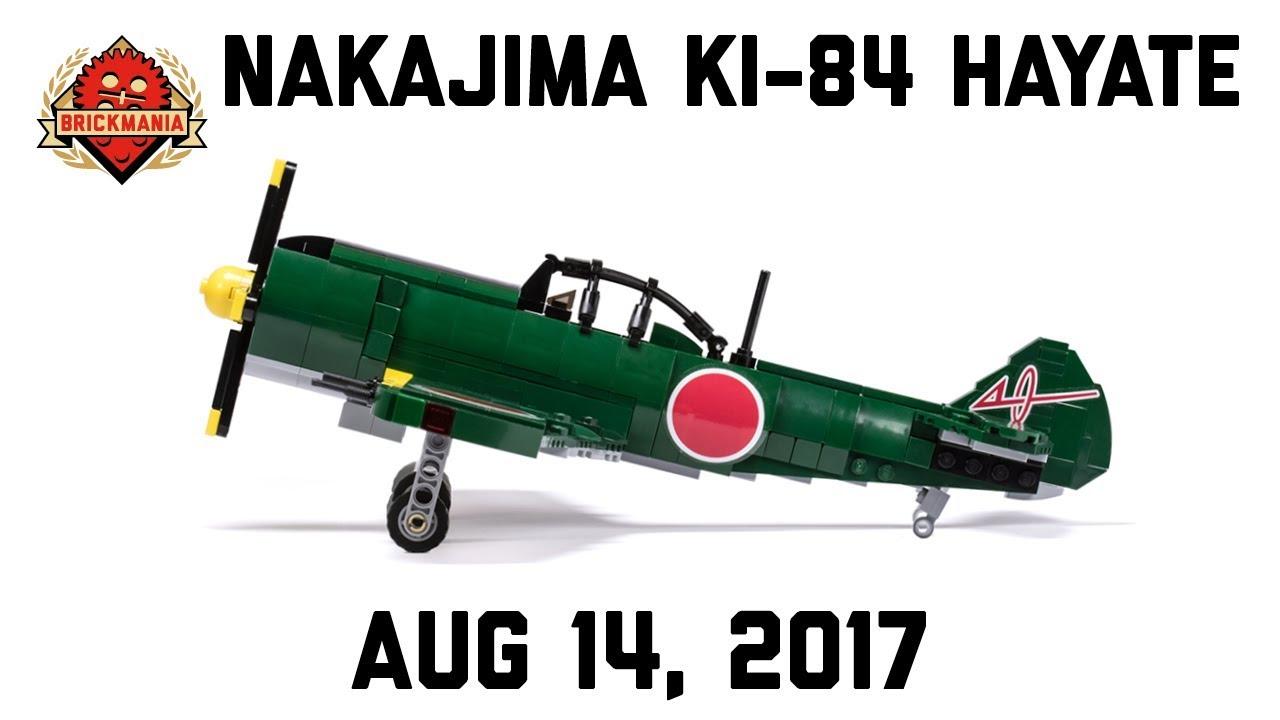 Nakajima Ki-84 Hayate - Custom Military Lego