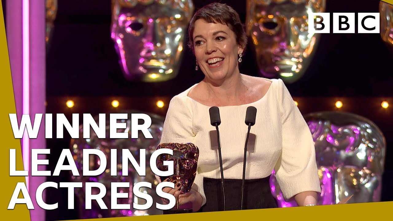 Olivia Colman wins Leading Actress BAFTA 2019 ????- BBC