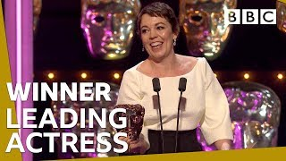 Olivia Colman wins Leading Actress BAFTA 2019 🏆- BBC
