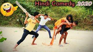Top New Funny  Desi Stupid Boys Comedy Video 2019  Found2fun  F2F