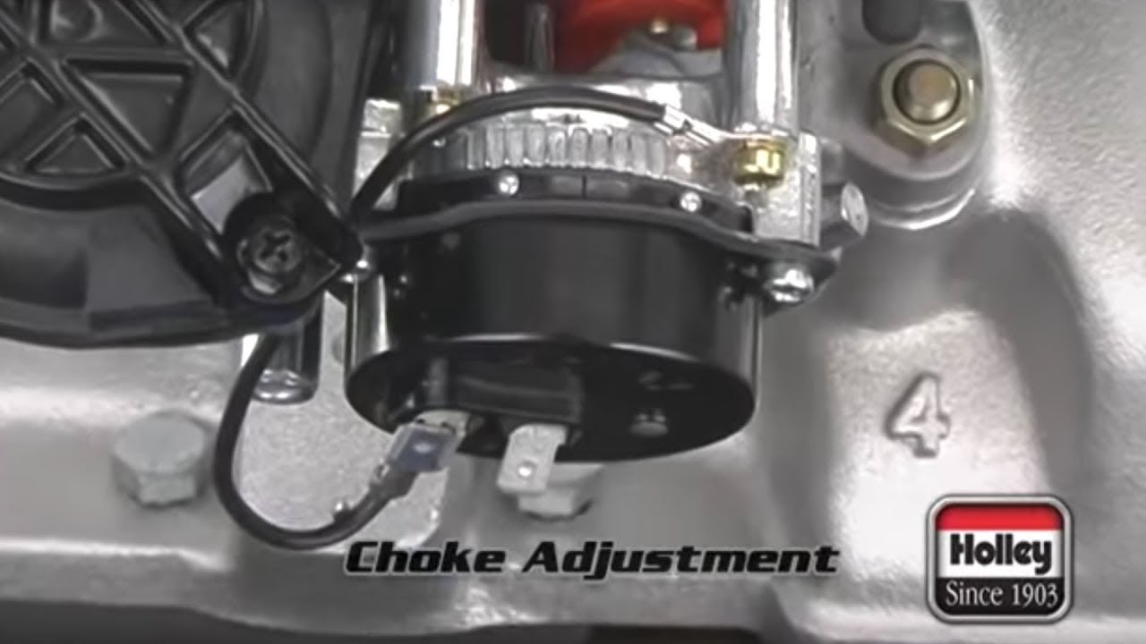 holley carburetor choke adjustment tips [ 1280 x 720 Pixel ]