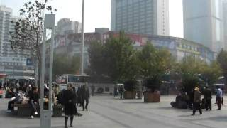上海火車站前廣場