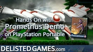 Promethus Demo - PlayStation Portable (Delisted Games Hands On)