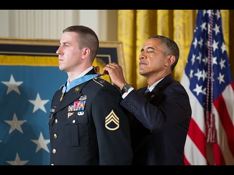 Staff Sgt. Ryan Pitts Receives the Medal of Honor