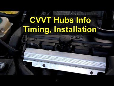 CVVT and VVT hub, timing, installation, adjustment, how to install, etc. Volvo cams – VOTD