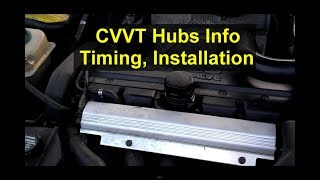 CVVT and VVT hub, timing, installation, adjustment, how to install, etc. Volvo cams - VOTD