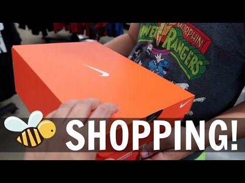 SHOPPING AT THE VACAVILLE OUTLETS! - October 29, 2017
