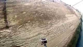Bungy jump over the Corinth Canal. Greece(Одно из самых замечательных действий, которое я совершил в Греции. Это решился прыгнуть банжи на мосту чере..., 2014-06-24T10:27:32.000Z)