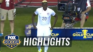 USA vs. Haiti - 2015 CONCACAF Gold Cup Highlights