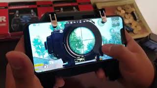 GAMEPAD L1/R1 WITH FAN AND BATTERY FOR PUBG, FREEFIRE, FORTNITE AND MORE!!!