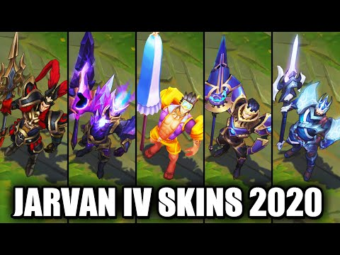 All Jarvan IV Skins Spotlight 2020 (League of Legends)