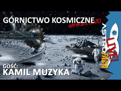 AstroGość - Kamil Muzyka: Kosmiczne górnictwo #18