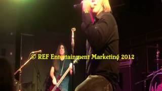 KAOSX does VAN HALEN Take Your Whiskey Home at VampD Copyright REF Entertainment Marketing 2012