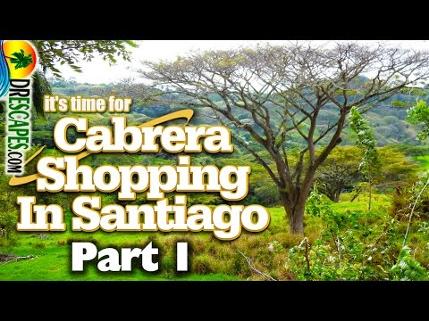 Santiago Shopping Trip - Leaving Cabrera and Heading Into The Mountains