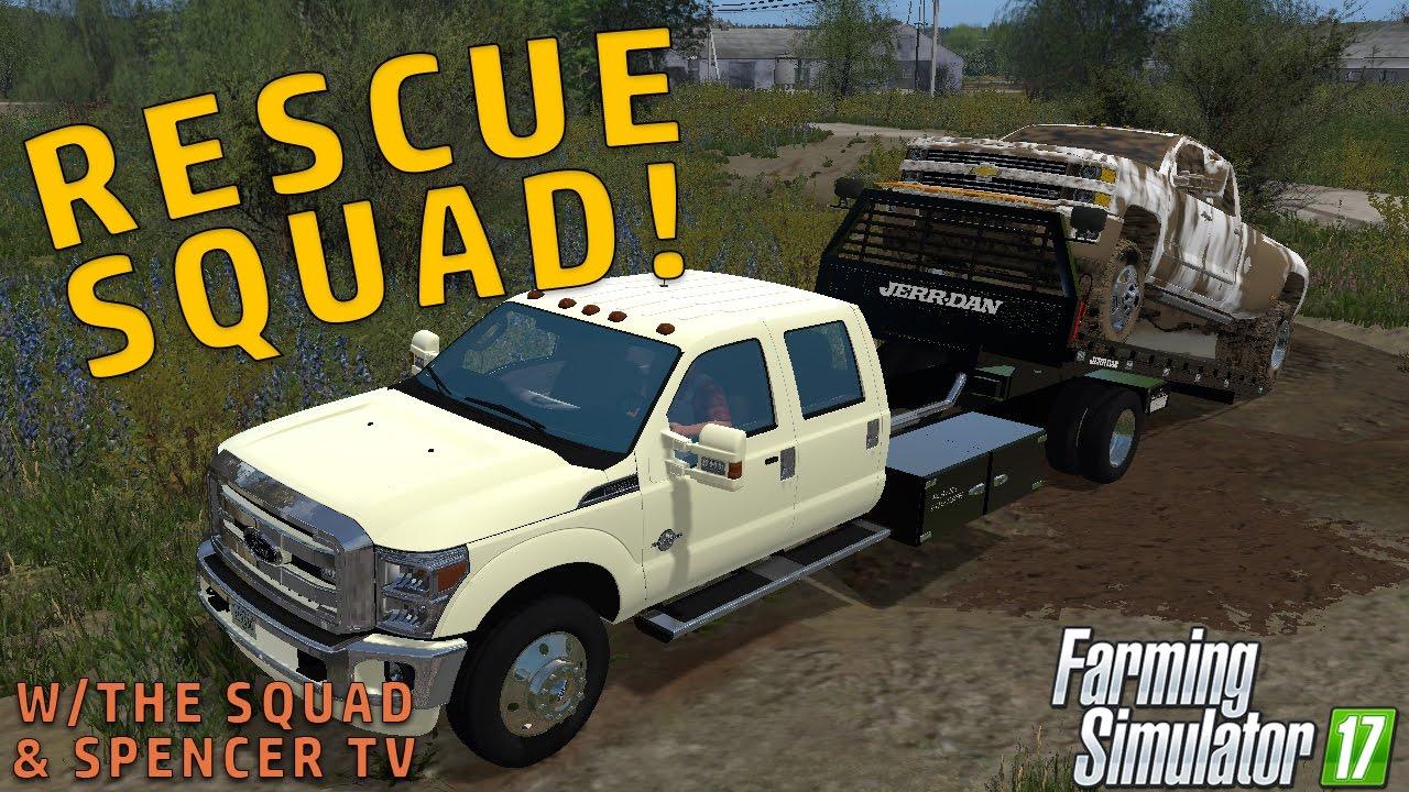 RESCUE SQUAD! | Farming Simulator 2017
