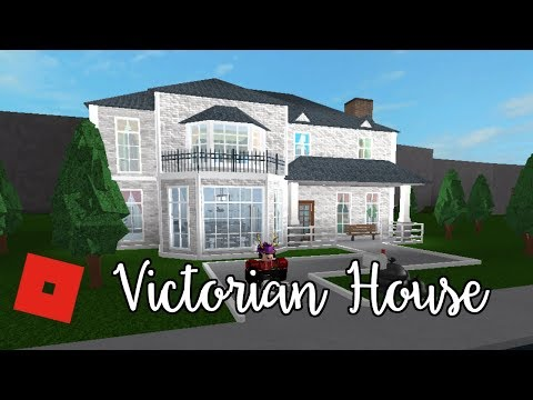 Welcome to Bloxburg: Victorian House | Speed Build