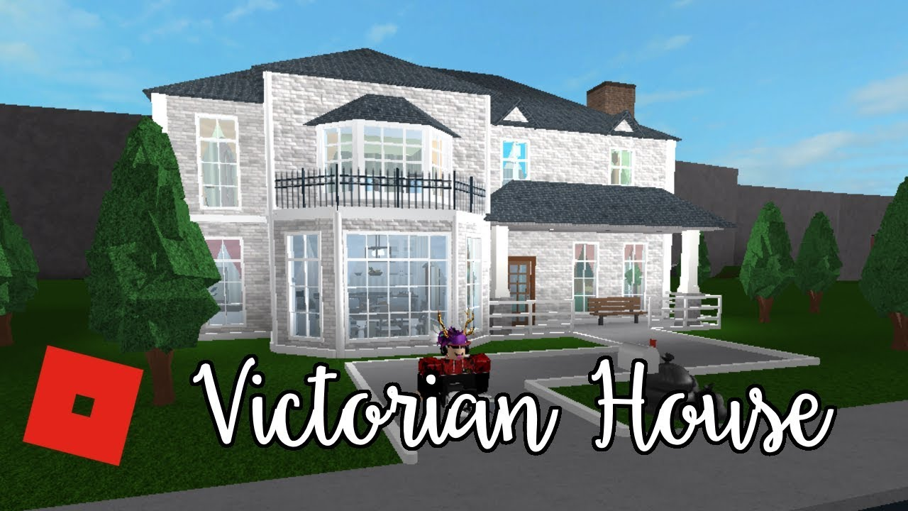 Welcome to bloxburg victorian house speed build youtube for How to build a victorian house