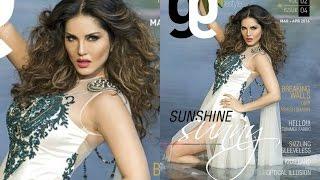Sunny Leone Hot On Glam & Gaze Cover 2016