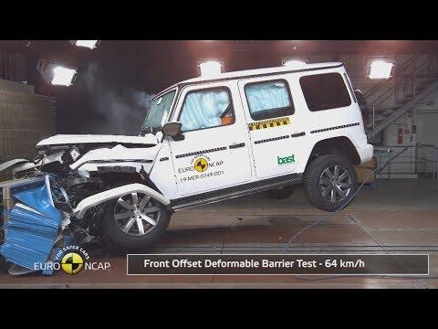 2019 Mercedes-Benz G-Class - Crash Test (Euro NCAP)