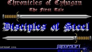 Disciples of Steel gameplay (PC Game, 1991)