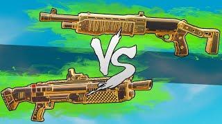 WELCHE SHOTGUN IST BESSER?! Heavy vs. neue Pumpgun