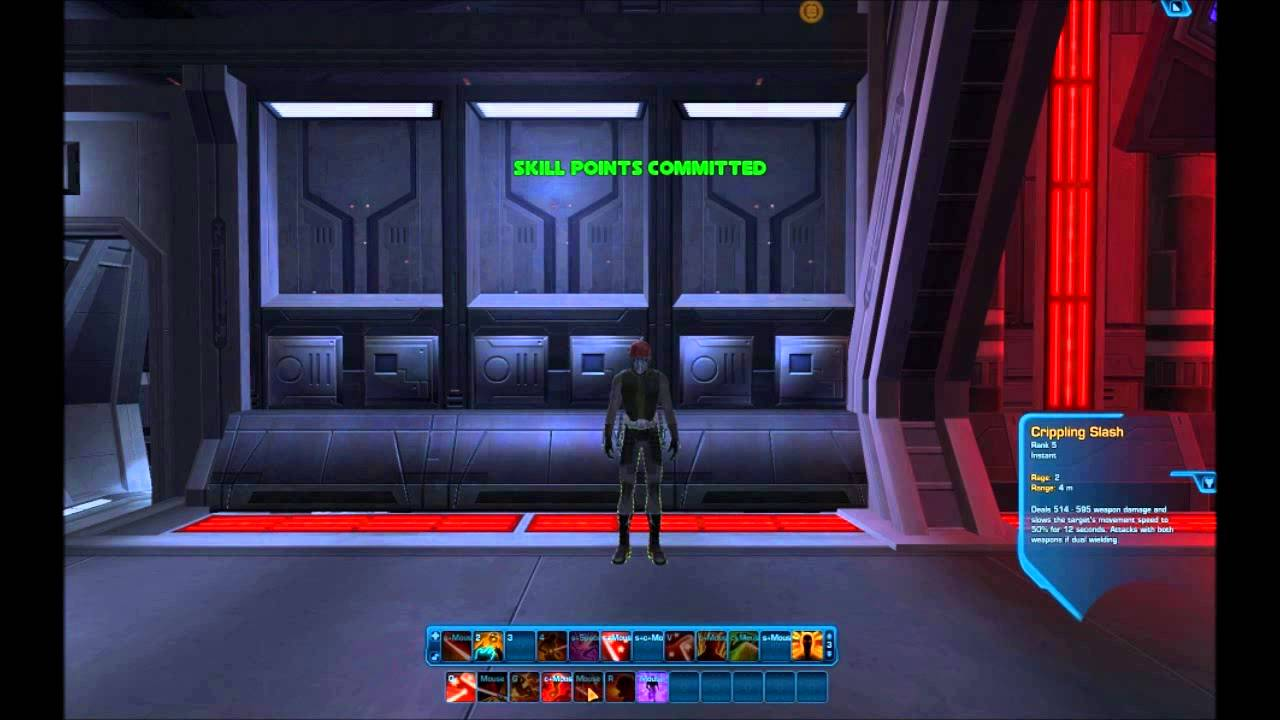 Demonstration of swtor respec macro using autohotkey - YouTube