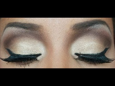 Tutorial maquillage soir e marron youtube - Maquillage de soiree yeux marron ...