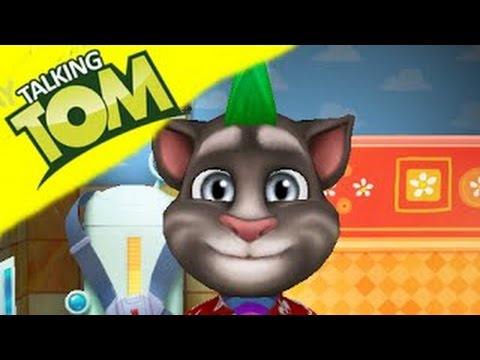 My Talking Tom Level #39 Video Gameplay Tom Kids Personal Cares Part 65 Igameplaydroid