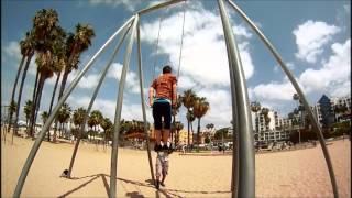 muscle beach parkour