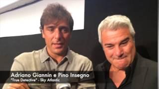 Adriano Giannini e Pino Insegno, doppiatori di