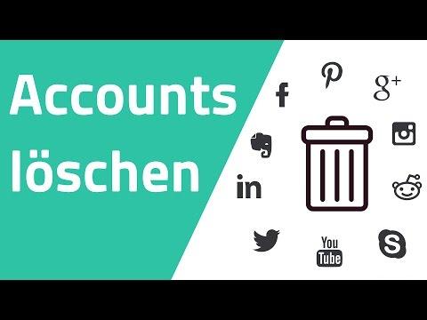 Accounts einfach löschen