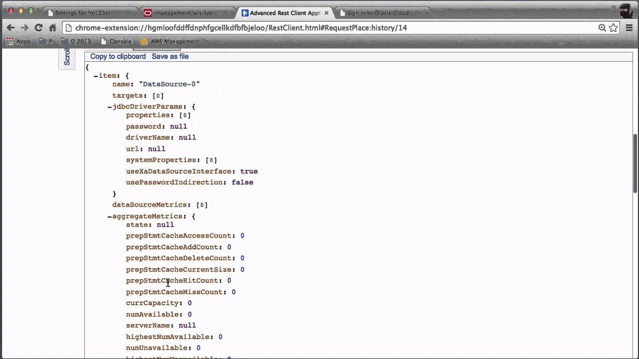 RESTful Configuration Part I - WebLogic 12 1 3