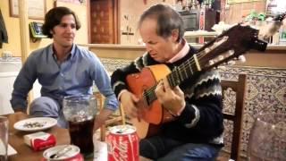 Tertulia Flamenca casa Guarín por bulerías,Juan an