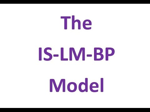 is lm model Centered on the is-lm model, keynesian macroeconomics was the predominant  paradigm in macroeconomics from the 1950s until the 1970s, when it came.