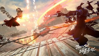 Blade & Soul Revolution 30vs30 PvP Gameplay Preview Netmarble Stream