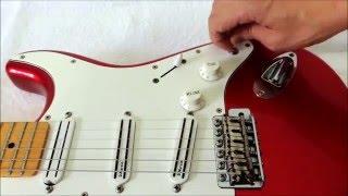 As partes da guitarra e suas funções