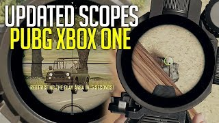 PUBG Xbox TEST SERVER UPDATE - New Settings, Scopes & More - Playerunknown's Battlegrounds