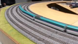 鉄道模型 JMRA 日本鉄道模型ショウ2013 ちょっと寂しい走行風景